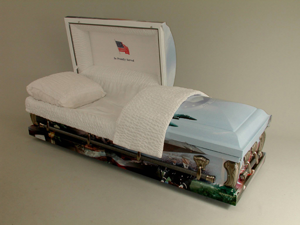 Picture of AAA - US AIR FORCE Art Casket Casket