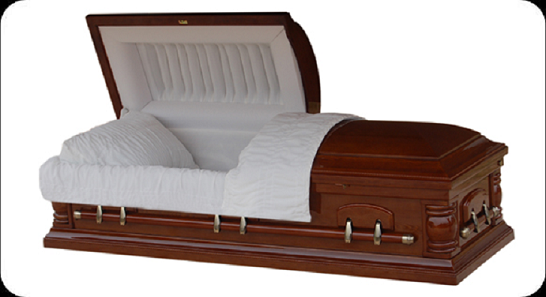 Wood Caskets - VENEER Casket