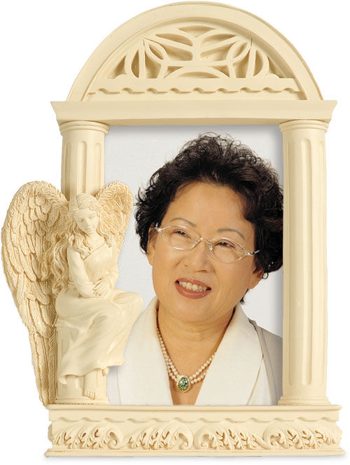 Picture of Angel of Courage Photo Frame Casket