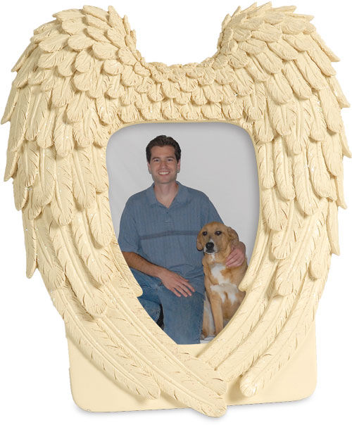 Picture of Guardian Angel Wings Photo Frame Casket