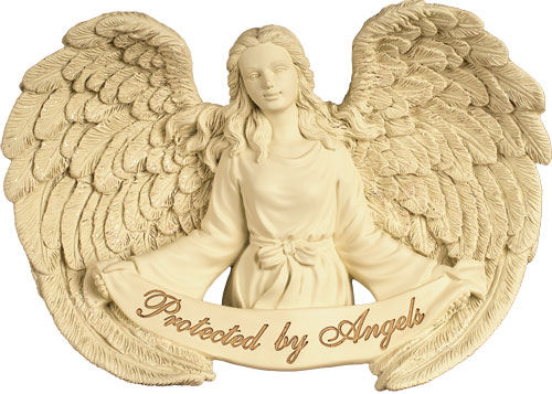 Picture of Wall Hanging - Protected by Angels Casket