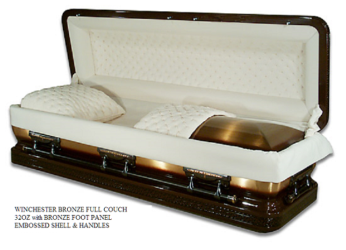 BRONZE Metal Caskets Casket