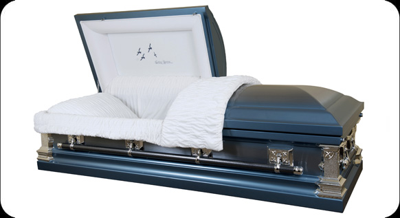 Picture of GOING HOME Metal Casket Casket
