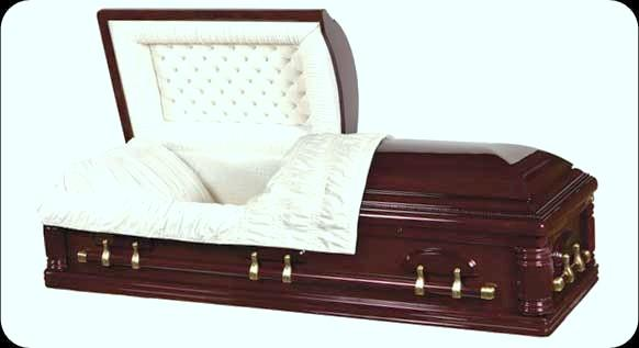 Picture of Grecian Solid Cherry Casket Casket