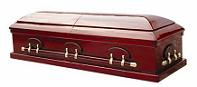Casket: Executive Solid Poplar Wood Casket
