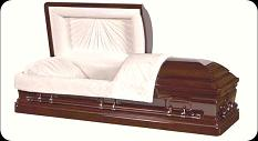 Casket: Inspiration Royal Solid Mahogany Casket