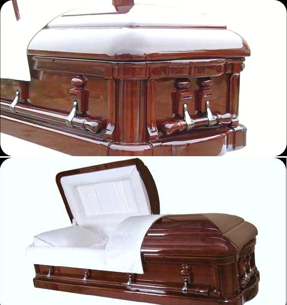 Picture of Majestic Royale Mahogany Casket Casket