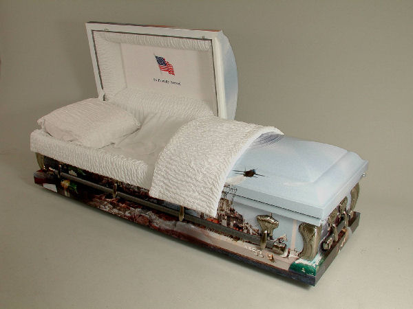 Picture of AAA - US NAVY Art Casket Casket