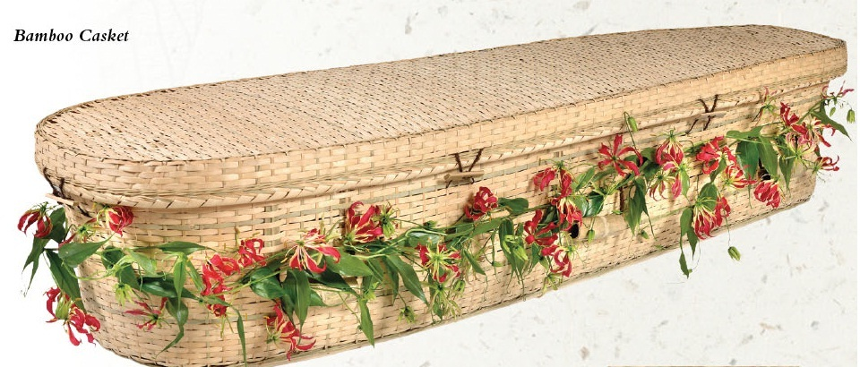 Picture of Bamboo Nature Casket Casket