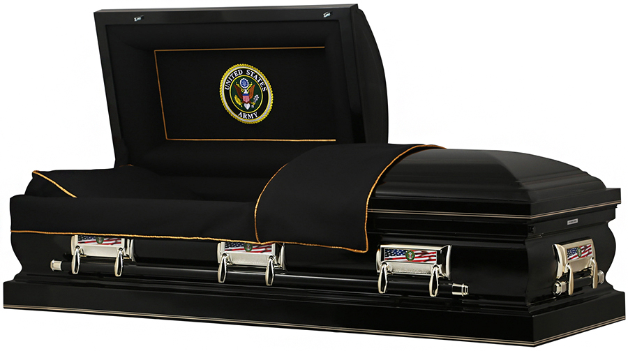 Picture of US ARMY American Steel Casket Casket