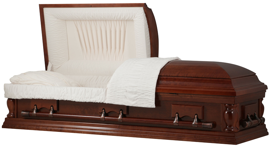 Picture of LEGACY CHERRY WOOD Casket Casket