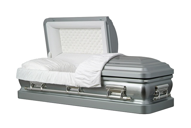 Picture of Silver Star Series Metal Casket Casket