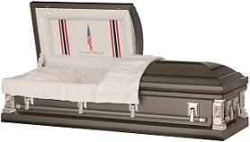 Casket: Love and Honor Military Casket