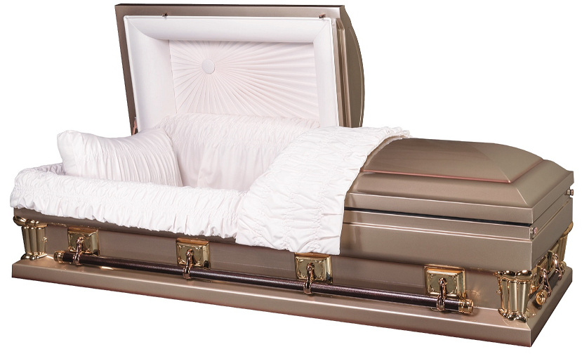 Picture of Franklin Gold Oversize-either 27.5 inch or 30.5 in Interior Casket