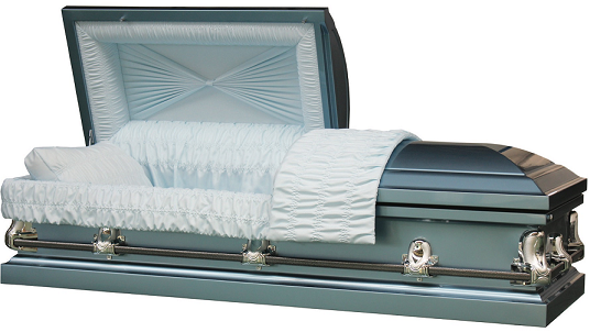 Casket: Galaxy Blue 20GA Steel Casket