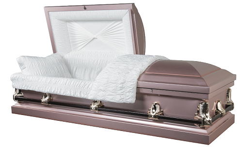 Casket: Galaxy Rose 20ga Steel Casket