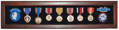Photo of Large Veteran Medal Display Case Urn