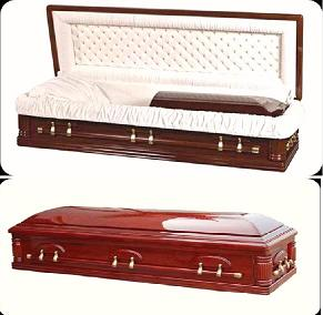Wood Caskets - CHERRY Casket
