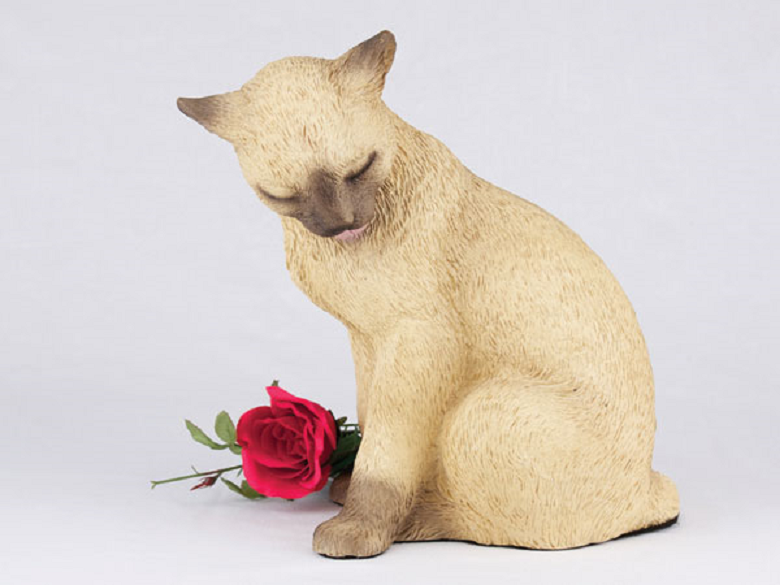 Photo of Siamese Cat  Urn